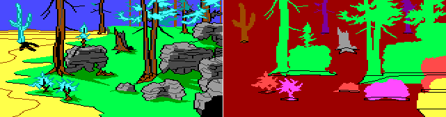 Image: room 12, King's Quest II